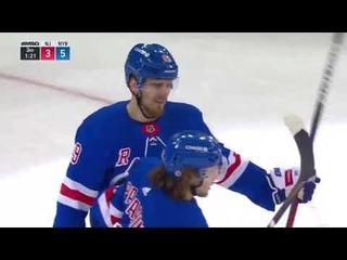 Pavel Buchnevich scores a hat trick in his birthday vs Devils (2021)