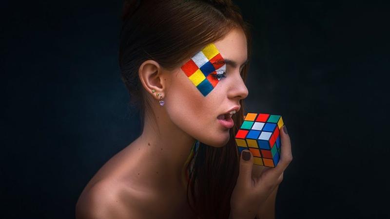 Расположение цветов в кубике Рубика ➄