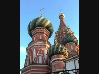 Звучание колоколов Собора Василия Блаженного