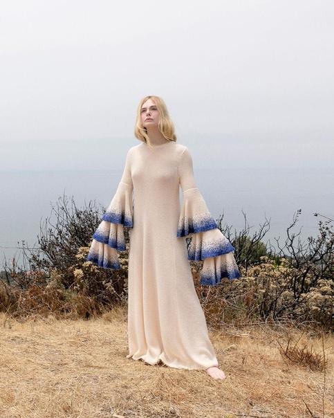 Солнечная Эль Фаннинг в фотосессии для свежего выпуска Vanity Fair
