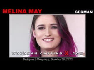 WoodManCastingX - Melina May