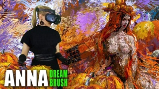 Pumpkins queen - virtual reality painting