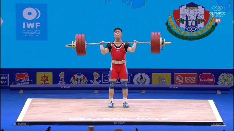 2019 World Weightlifting Championships. men 67kg \ Чемпионат мира мужчины до 67кг