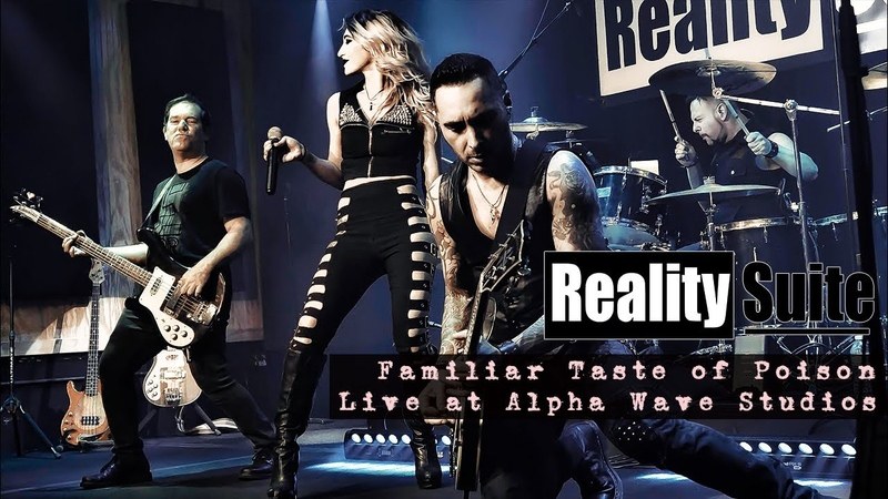 REALITY SUITE HALESTORM Familiar Taste of Poison Live at Alpha Wave Studios