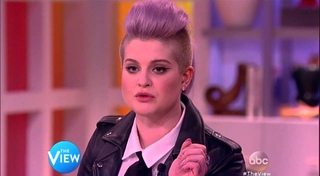 """The View -- Kelly Osborne """"Who is going to be cleaning your toilet, Donald Trump?"""""""