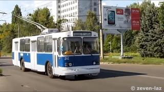 Черкасский троллейбус- ЗиУ-682В №292