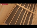 Обзор дома из профилированного бруса под ЦПЧ БРААС коричненого цвета