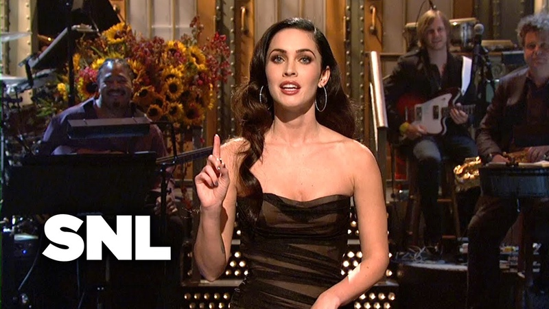 Megan Fox Monologue Internet Photos Saturday Night Live