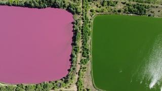 Розовые озёра. Топ-10 мест Самары. Место которое вы не забудете. Необычная Самарская область.