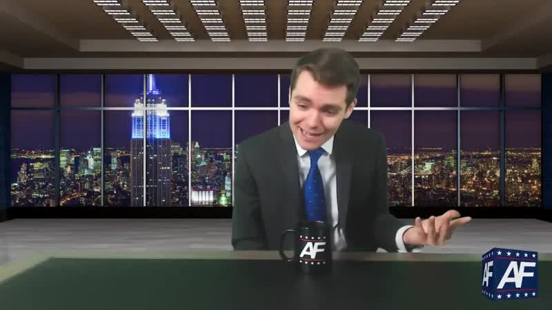 Nick Fuentes CAUGHT looking at Brittany Ventis milkers