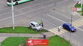 ДТП перекресток Юбилейная Волочаевская 26 08 2021