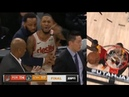 Damian Lillard Tries to Fight Ref after Missed Goaltend Call Costs Blazers!