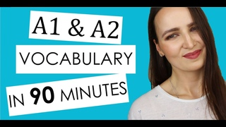 Complete Vocabulary for A1 & A2 Levels | Learn Russian most used Words