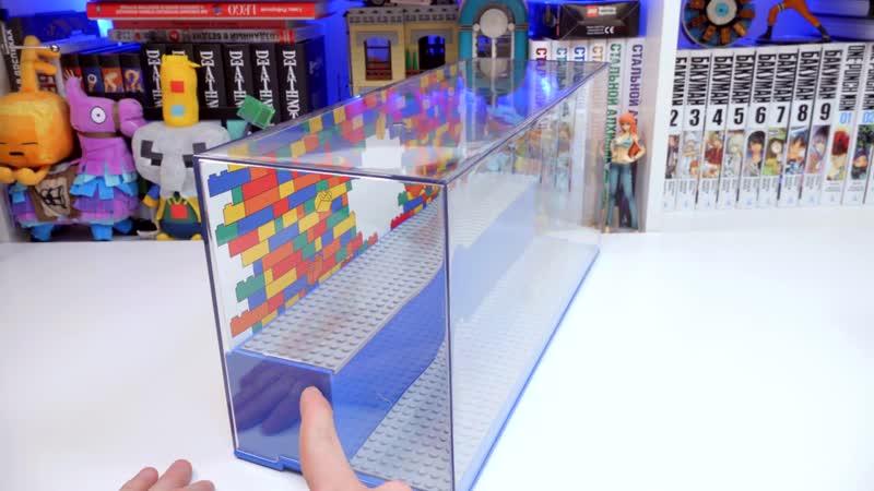 Shiro Geek World Как хранить фигурки LEGO SUPER MARIO и Minifigures 21 серия