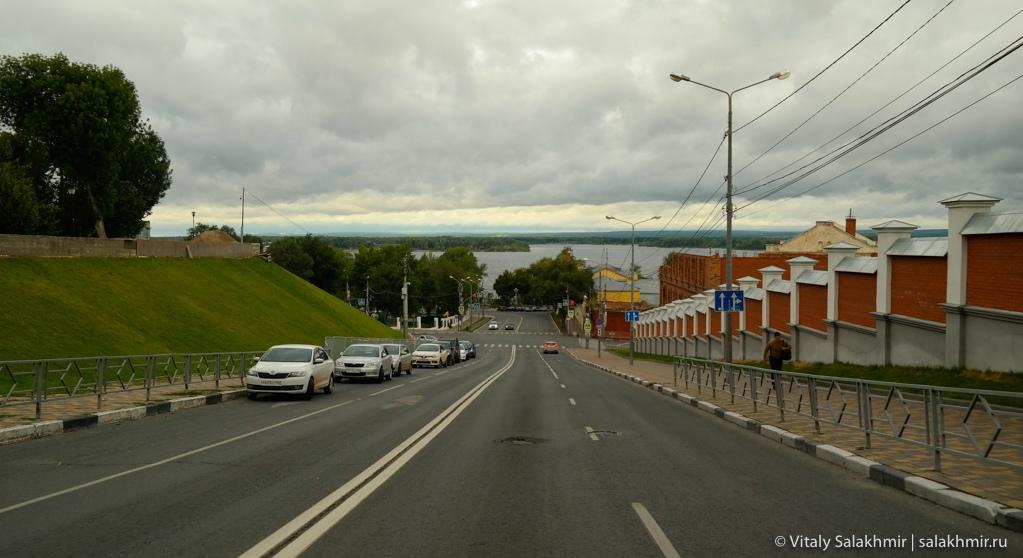 Панорама Волги, Самара 2020