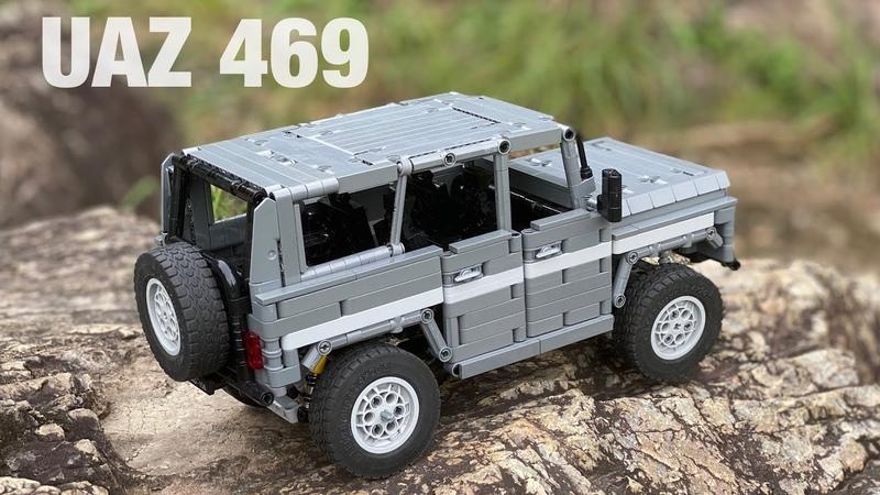 LEGO Technic UAZ 469 ЛЕГО УАЗ 469