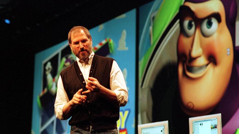 Стив Джобс увидел потенциал в студии «Пиксар»
