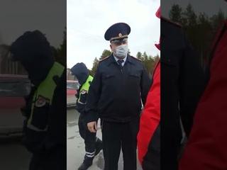 Путинские полицаи накинулись на группу граждан СССР