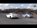 Nissan GT R Switzer P800 vs Skyline R34 Mine's Stage II 700 HP