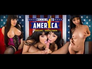 Cumming to America (VR porn)