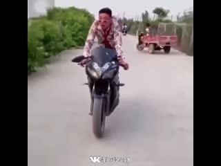 Когда очень хочешь мотоцикл