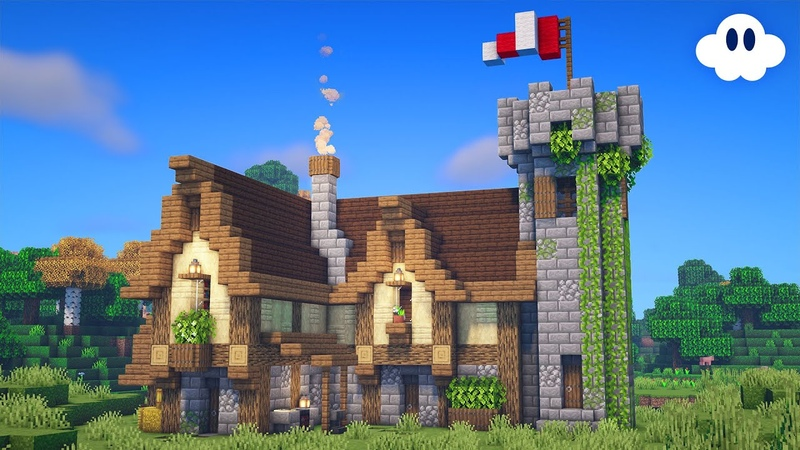 Minecraft How to Build a Medieval House Survival House