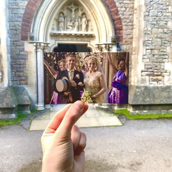 Сцена свадьбы в «Шерлоке» в реальных локациях на фотографиях Томаса Дьюка