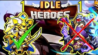 КАК ВЛИЯЕТ ВЫБОР ПЕРВОГО ГЕРОЯ НА АККАУНТ В ЦЕЛОМ! Idle Heroes