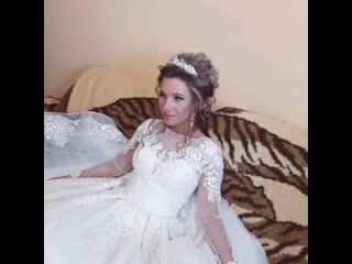 Моя прекрасная невеста  Елена💕макияж и прическа+ прокат диадемы и кольца под платье #polozkovastudio