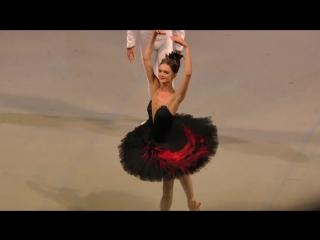 Andrea Lassakova debut in Swan Lake Act II Odile Entree and PDD