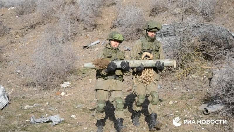 Российские миротворцы в Арцахе