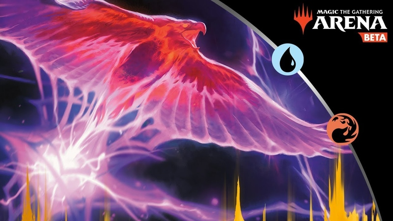 Cantrip Phoenix | A BlueRed Izzet Arclight Phoenix Drake Deck | MtG Arena Gameplay