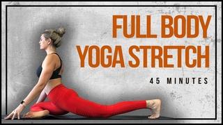 Full Body Yoga Stretch - 45 Minute Vinyasa
