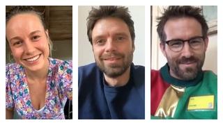 Marvel Cast During Quarantine, Part 17 | Sebastian Stan, Brie Larson, Ryan Reynolds, Chris Hemsworth