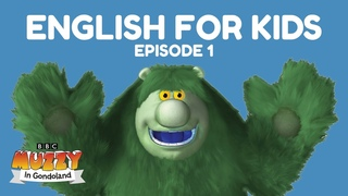 Learn English For Kids. Muzzy In Gondoland - Ep 1 of 12 English lessons for kids by the BBC's Muzzy