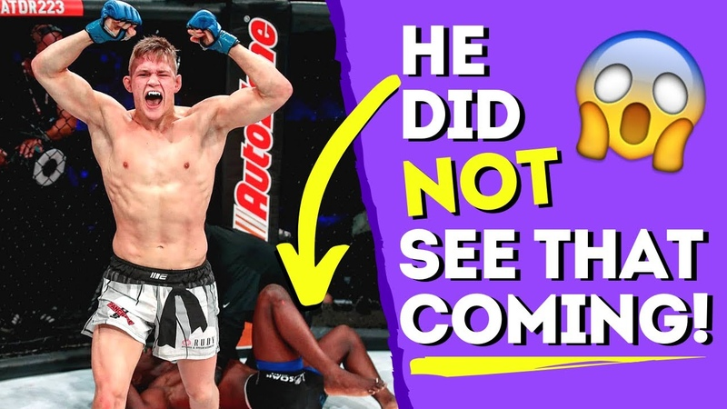 Amazing MMA Comeback By Karate Fighter Oliver Enkamp 🥋