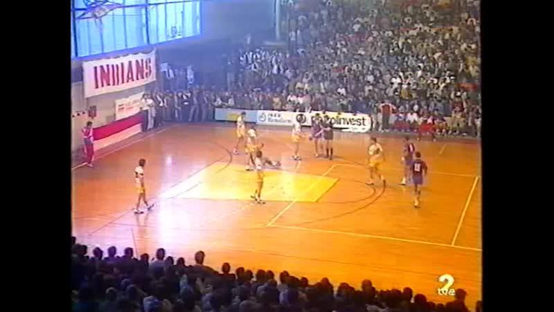 Copa Europa 1991 Final ida Proleter Barcelona