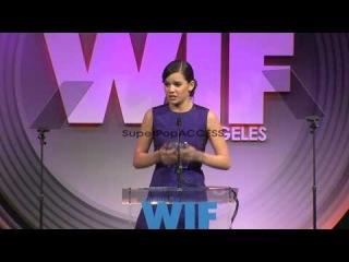 SPEECH - Hailee Steinfeld at 2013 Women In Film Crystal p...