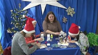 Мастер-класс по изготовлению новогоднего домика из бумаги. Мастерская деда Мороза #8