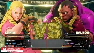 """""""Best Bout Replays"""" SFV CE - REC PUNK vs Stupendous"""