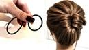 6 Причесок из 2 Резинок. Просто сделать СЕБЕ! на Короткие волосы.