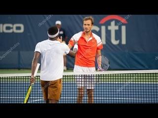 Даниил Медведев vs Тиафо, Андрей Рублев vs Берреттини, Оже vs Тим ATP Открытый чемпионат США 1/8