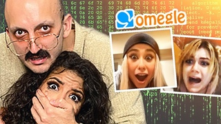 Hacking Into OMEGLE Calls Prank (Hilarious Reactions) Part#9