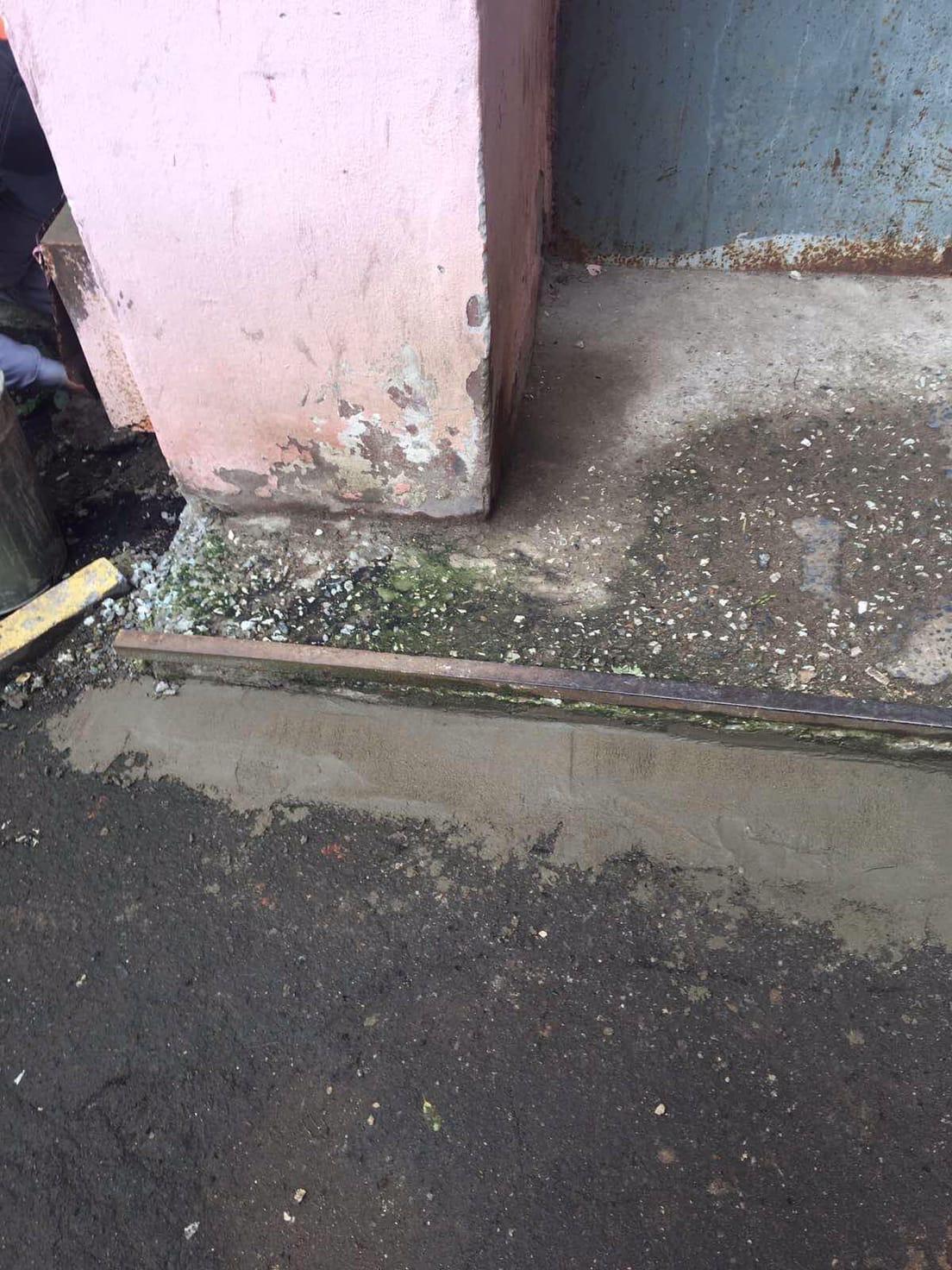 Улица Московская дом 101(2..4 подъезд) мелкий ремонт