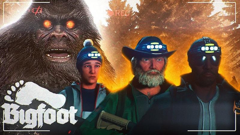 ОХОТА НА ВОЛОСАТОГО БИГФУТА НАМ НЕ ВЫЖИТЬ Приколы Хоррор Угар Монтаж Bigfoot