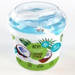 Десерт АйсКро Вегурт на кокосовой основе с кокосовой стружкой 0,125кг
