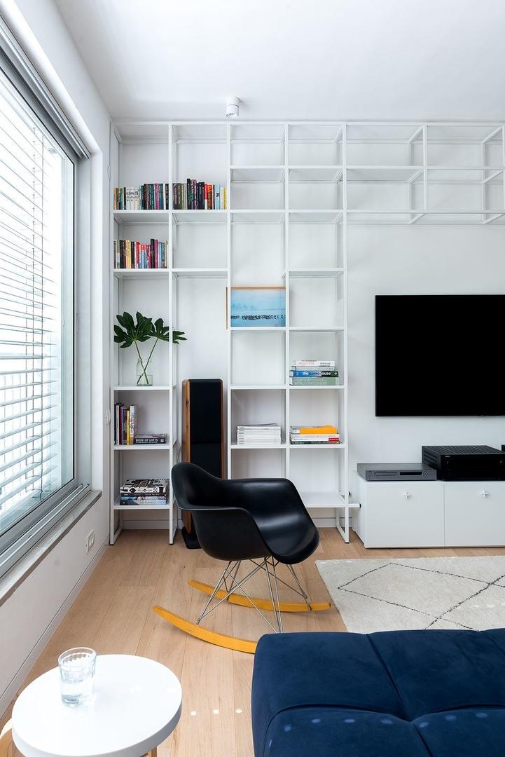 Далит Лилиенталь: открытая квартира в Тель-Авиве