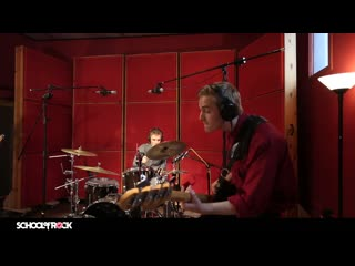 """School of rock students perform """"three of a perfect pair"""" by king crimson"""