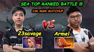 23savage [Anti Mage] Top1 MMR Beast Carry vs TNC Armel Lina Midlane GOD Dota 2 Perspective Gameplay