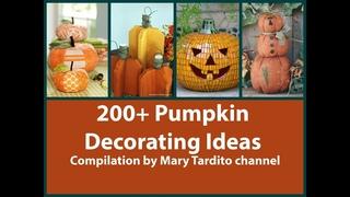 Более 200 креативных идей как украсить тыкву на Хэллоуин.